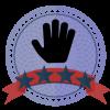 four star volunteer badge