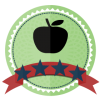 four star educator school badge