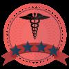 four star healthcare providers school badge
