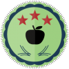 three star educator school badge