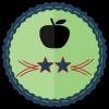 two star educator school badge