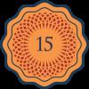 15 things badge