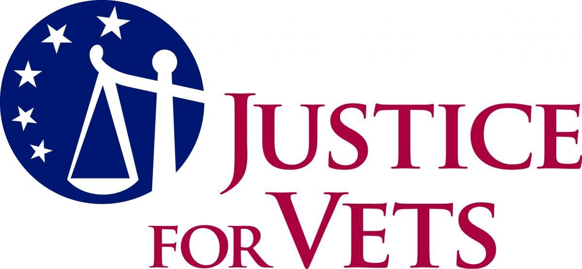 justice for vets logo type